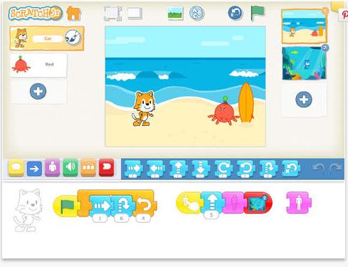 ScratchJr App Scrrenshot 1